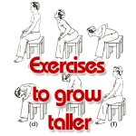 Exercises and stretches to grow taller
